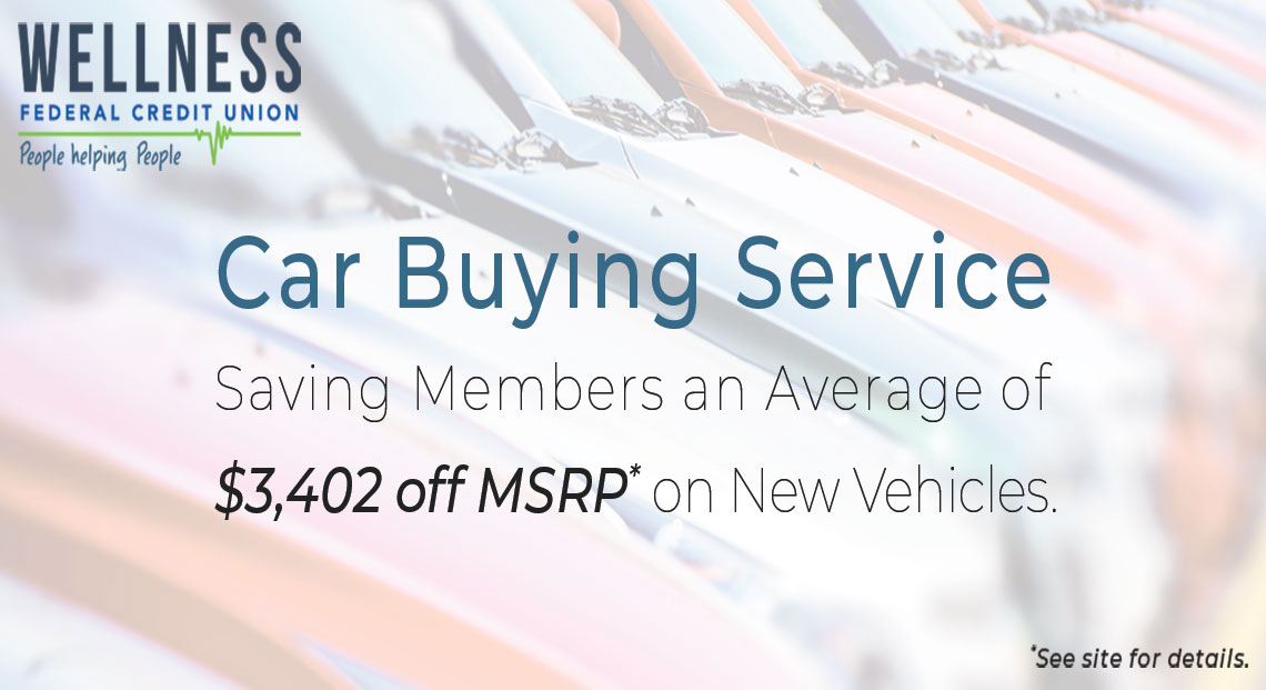 Car Buying Service - Saving Members an average of $3402 off MSRP* on New Vehicles